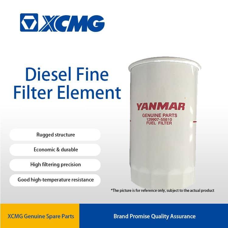 XCMG 129907-55810 Diesel filter element (white)  800156744