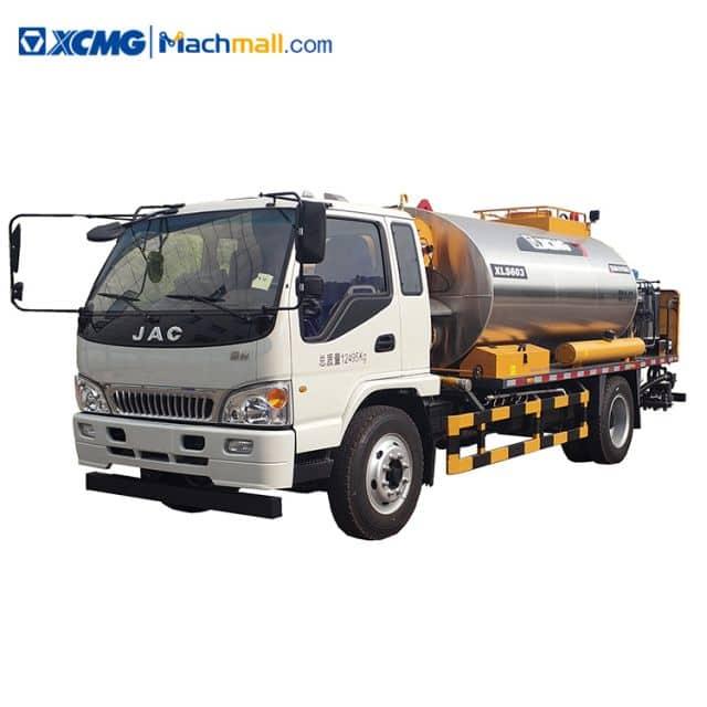XCMG road maintenance truck XLS603 asphalt distributor 6m sprying width price