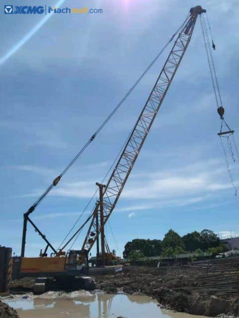 XCMG XGC55 50 ton crawler crane for sale
