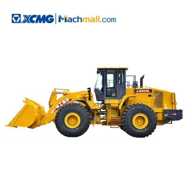XCMG 8 ton construction machine heavy equipment wheel loader LW800K price