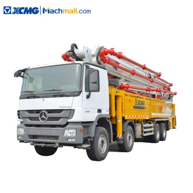 XCMG 58m HB58K new truck mounted pump concrete for sale