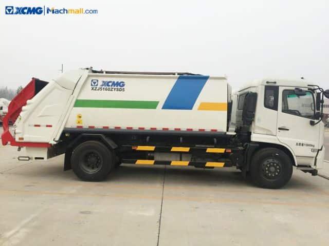 XCMG 8 Ton 12.5m3 Compressed Garbage Truck XZJ5160ZYSD5 For Sale