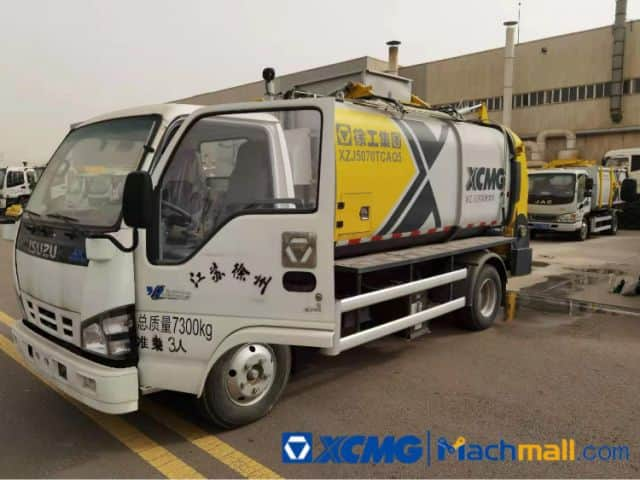 XCMG Used 5 Cubic Meter Kitchen Garbage Truck Prices