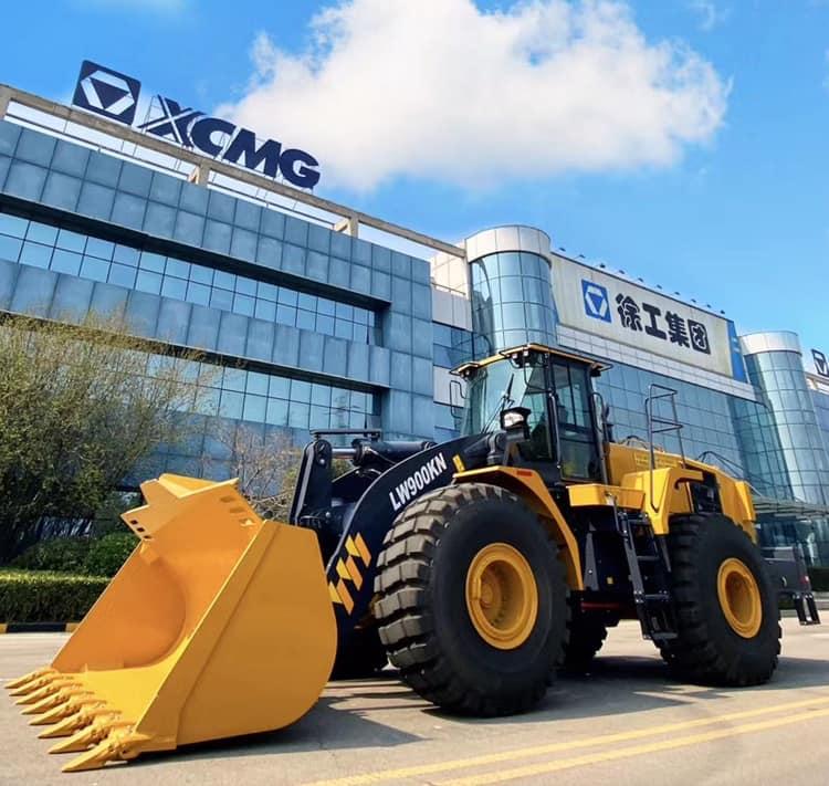 LW900KN wheel loader for sale | XCMG 5m3 250kw 9 ton wheel loader price