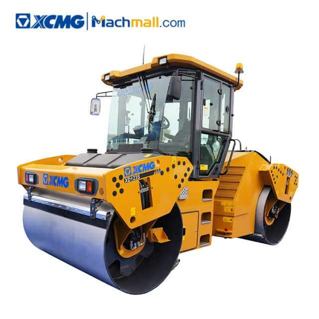 12 ton XCMG double drum rollers XD123S for sale