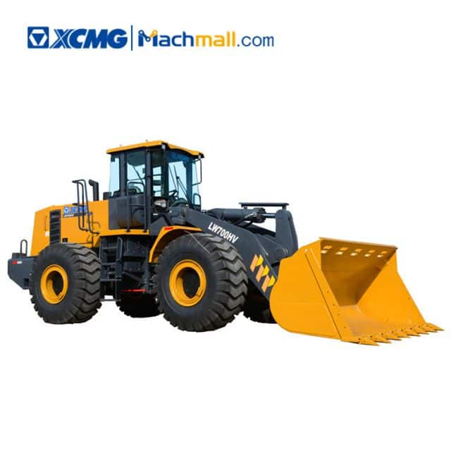 XCMG factory 7 ton LW700HV bucket loaders for sale