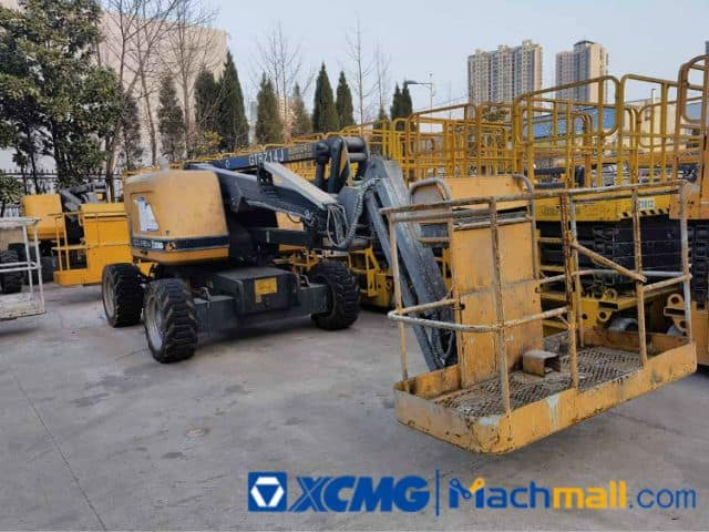 China XCMG Offical 12m GTBZ14J Used Mobile Boom Lift For Sale