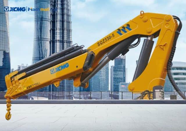XCMG 3000kg small Hydraulic boat crane price