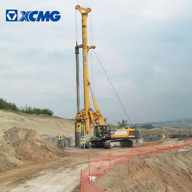 XCMG Official XR220DII Rotary Drilling Rig for sale