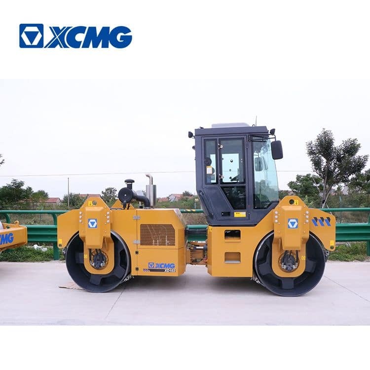XCMG XD103 new 10 ton double drum compactor roller for sale