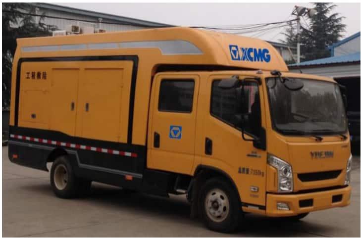 XCMG XFX705 Rescue vehicle (yellow brand)