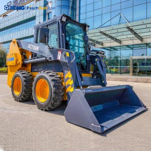 XCMG official 1 ton mini skid steer loader XC750K price