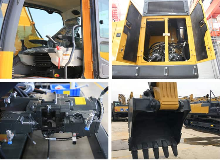 XCMG XE75D crawler excavator 7 ton excavator machinary for sale