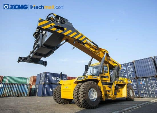XCMG 50 ton Port Reach Stacker Container XCS50S crane For Sale