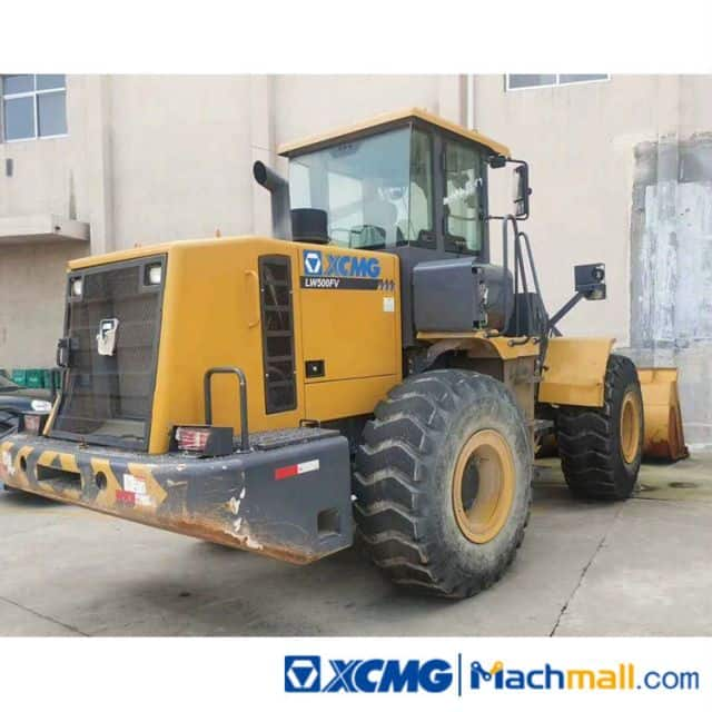 XCMG 5 Ton LW500FV Used Fornt Wheel Loader For Sale