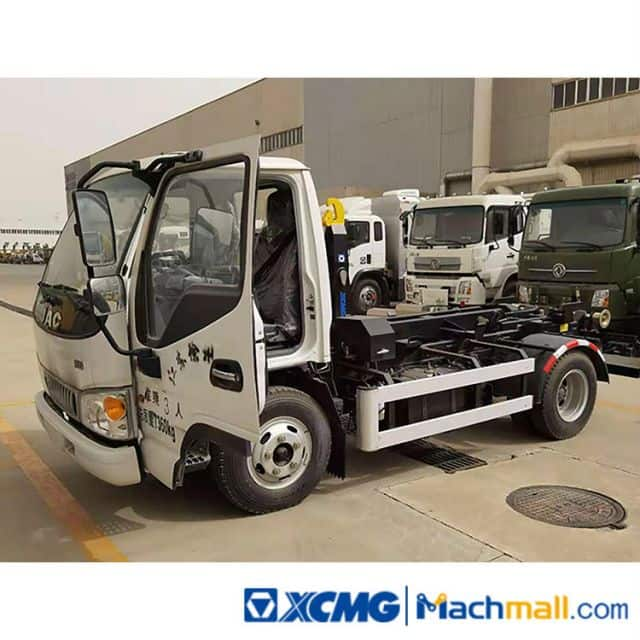 XCMG Used 7 Cubic Meter Detachable Garbage Truck For Sale