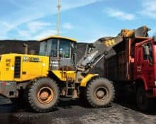 XCMG coal mine equipment 5 ton loader machine ZL50GN for sale
