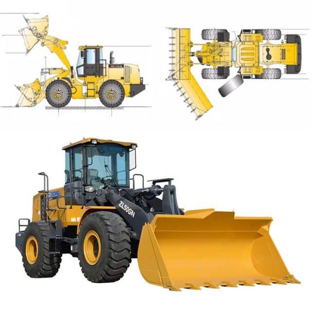 XCMG ZL50GN Wheel Loader Spare Parts List