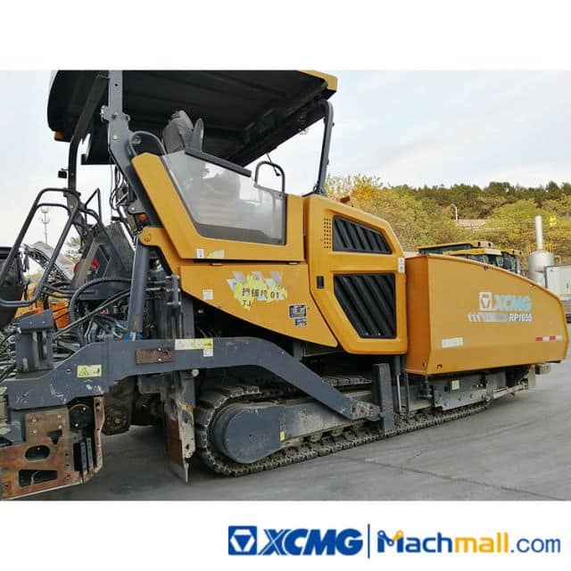 XCMG Used 16m Road Paver Machine RP1655 For Sale