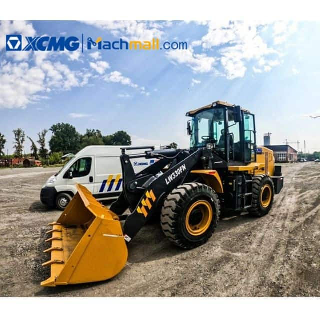 XCMG LW330FN 3 ton front wheel loader with WEICHAI engine On Sale