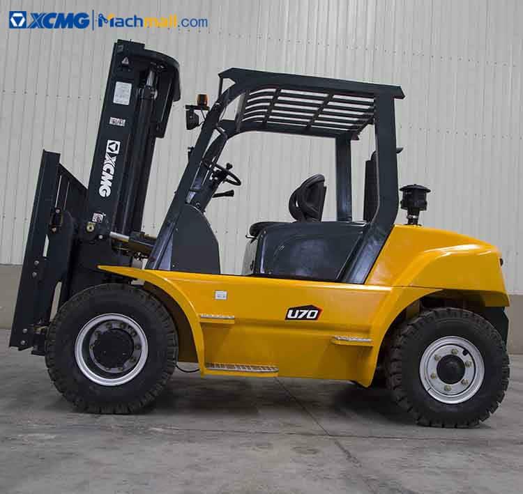 Diesel XCMG 7 Ton XCF706K Forklift Truck For Sale