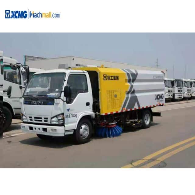 XCMG XZJ5160TXSD5 8 ton street road sweeper truck for sale