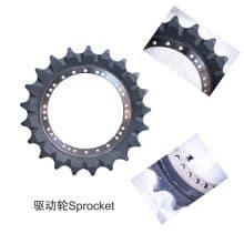 XCMG Excavator Accessories Track Shoes/Link Assy/Sprocket/Track Roller/Idler Wheel for Sale