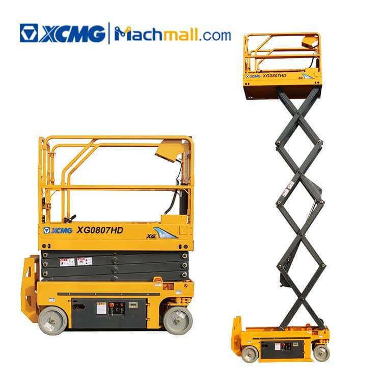 XCMG scissor lift XG0807HD small hydraulic scissor lift price