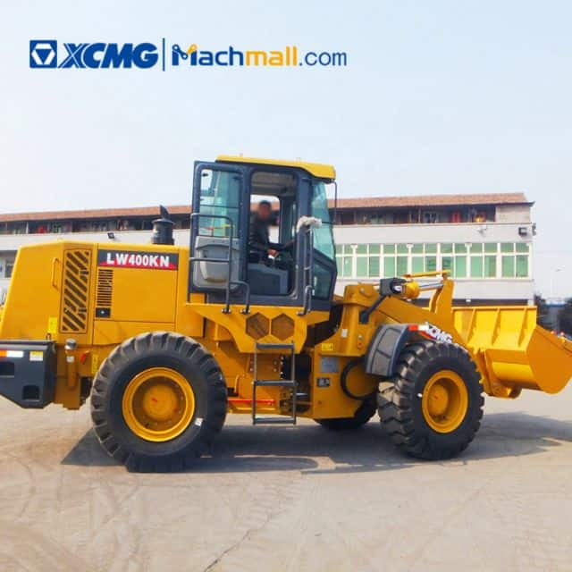 XCMG official  4 ton wheel loader LW400KN price