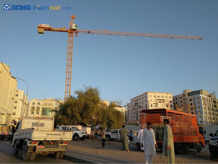 XCMG XGA5610-6S 6 ton 31m - 56m jib length topkit tower crane for sale