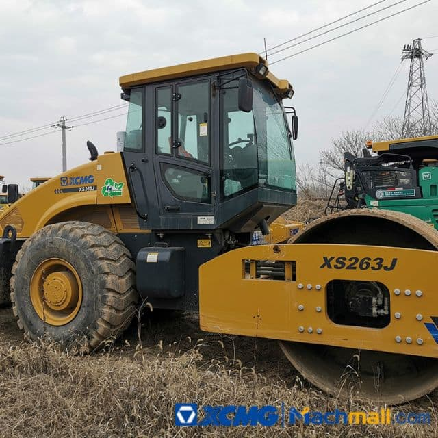 XCMG Used 26ton XS223J 2020 Vibratory Road Roller For Sale