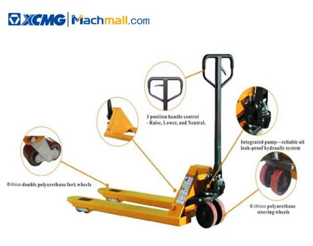 XCMG manufacturer 3 ton Pallet Jack Truck price