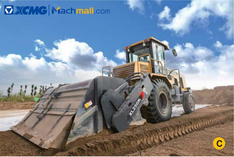 XCMG Official Road Cold Recycle XLZ2103S Road Machine For Sale