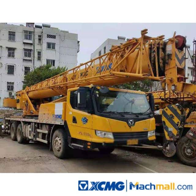 XCMG Used Machines For Sale | 25 Ton QY25K5C Used Truck Crane
