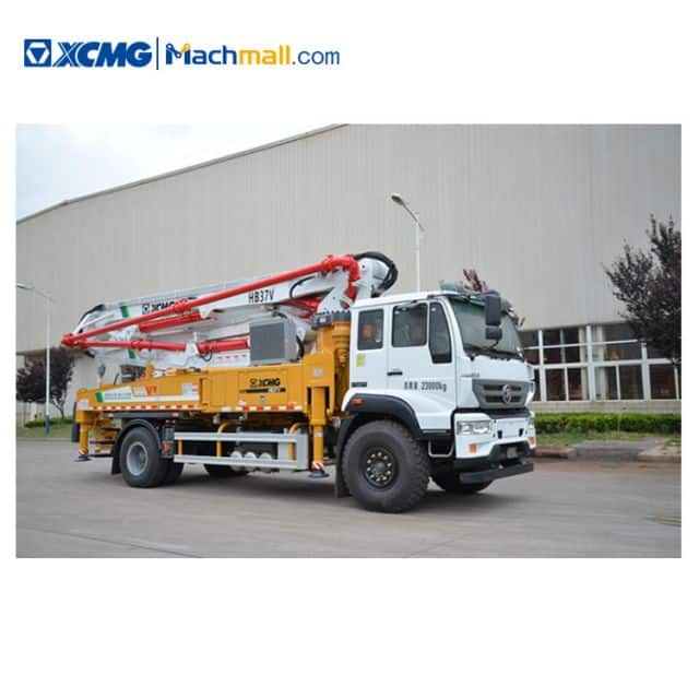 HB37V XCMG Concrete Pump with Sinotruk STR chassis for sale