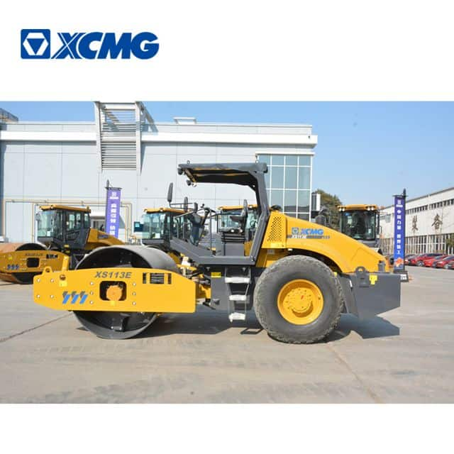 XCMG 10 Ton XS113E China Single Drum Vibratory Road Roller for Sale