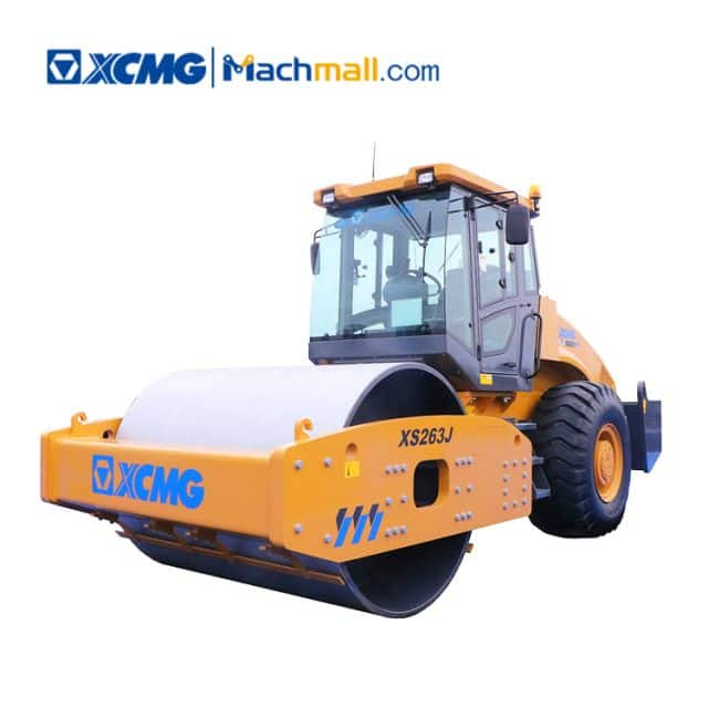 XCMG 26 ton vibratory road roller XS263J for sale
