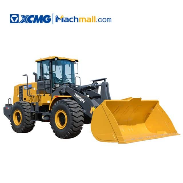 XCMG 6 ton front end loader LW600FV price
