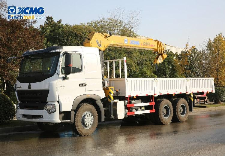 China 8 - 10 ton HOWO Mounted Crane for sale