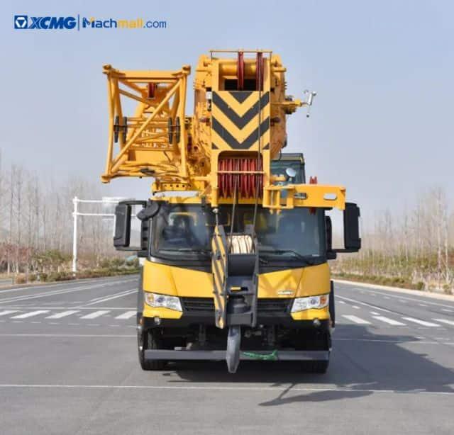 90 ton XCMG telescopic boom truck crane XCT90L5 price