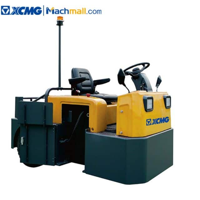 XCMG 6 ton electric tow tractor XCT-PS60 with three wheels sit type price