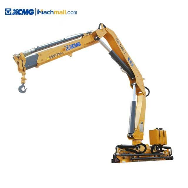 XCMG 5 ton hydraulic knuckle boom crane for trucks price