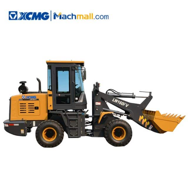XCMG official mini wheel loader 2 ton LW160FV for sale