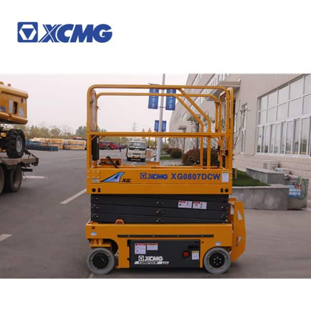 XCMG official 8m scissor lift platform XG0807DCW for sale