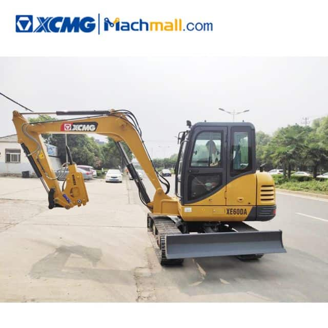 XCMG XE60DA 6 Ton Small Rock Breaker Excavator For Sale