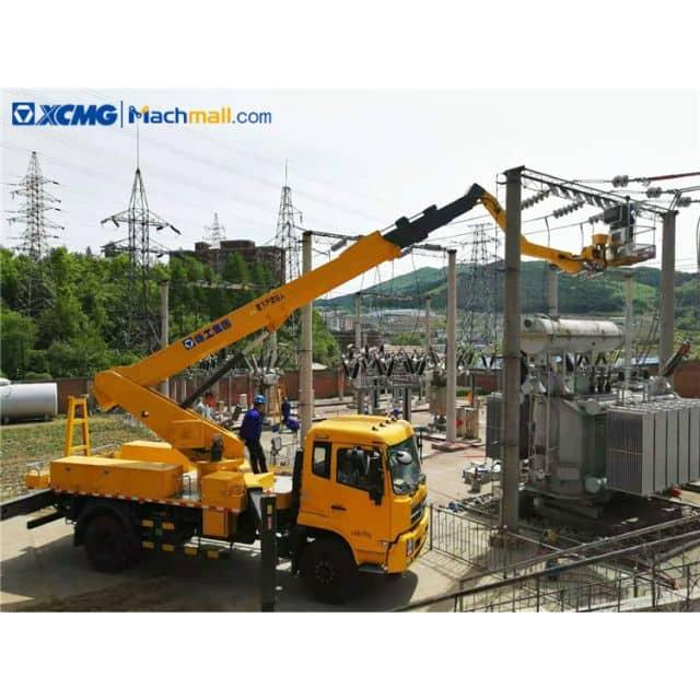 XCMG basket lift 12m rated load 200kg basket trucks for sale