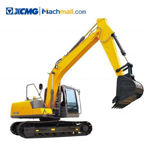 XCMG Official XE135B 13 Ton Hydraulic Excavator Machine For Sale