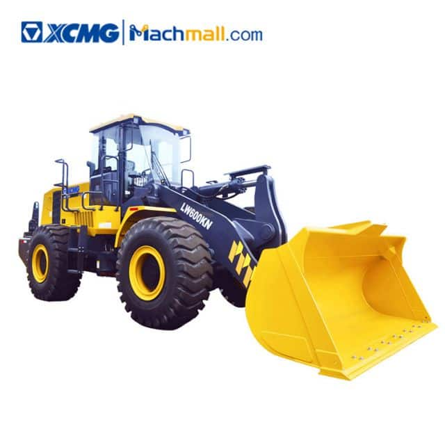 XCMG factory 6 ton bucket loader LW600KN for sale