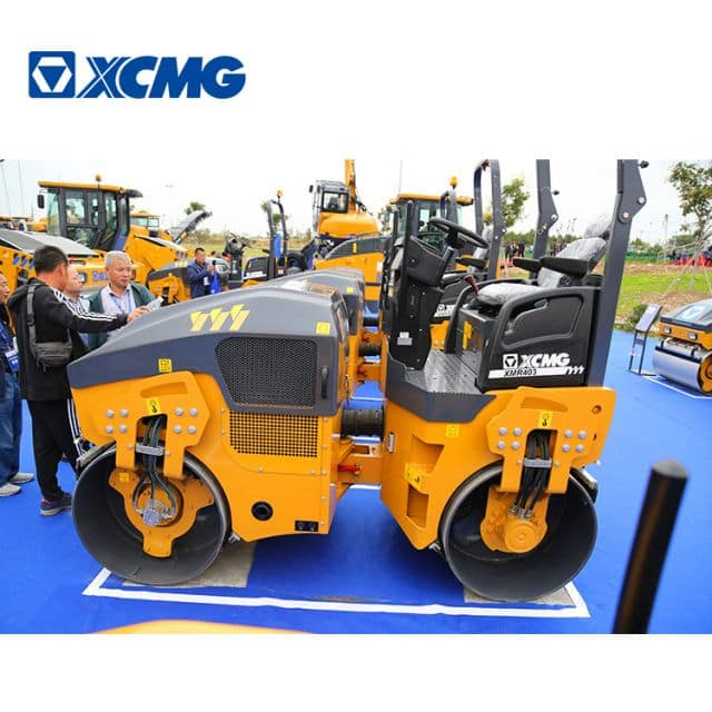 XCMG 4 Ton Light Vibratory Road Roller XMR403 for Sale