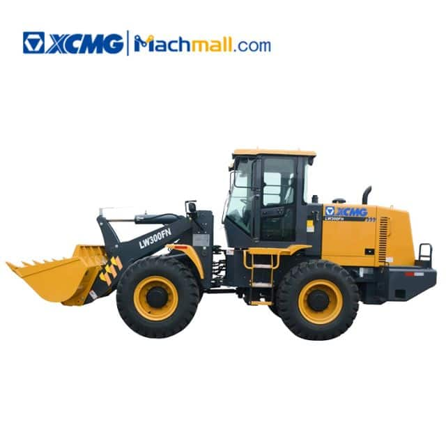 XCMG factory 3 ton small wheel loader LW300FN price